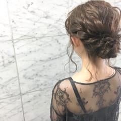 結婚式 ヘアアレンジ デート 大人かわいい ヘアスタイルや髪型の写真・画像