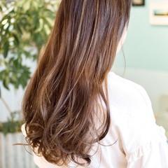 ハイライト 外国人風 大人かわいい ロング ヘアスタイルや髪型の写真・画像