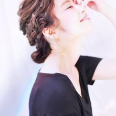 アップスタイル ヘアアレンジ まとめ髪 愛され ヘアスタイルや髪型の写真・画像