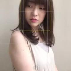 3Dハイライト ロング 大人ロング レイヤーロングヘア ヘアスタイルや髪型の写真・画像