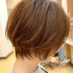 ウルフカット ショート ナチュラル ベリーショート ヘアスタイルや髪型の写真・画像
