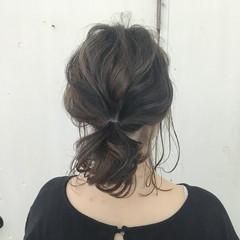 ストリート ハイライト ローライト オリーブアッシュ ヘアスタイルや髪型の写真・画像