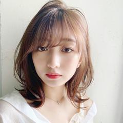 ひし形シルエット 大人かわいい デジタルパーマ アンニュイほつれヘア ヘアスタイルや髪型の写真・画像
