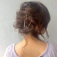 フェミニン コンサバ モテ髪 愛され ヘアスタイルや髪型の写真・画像