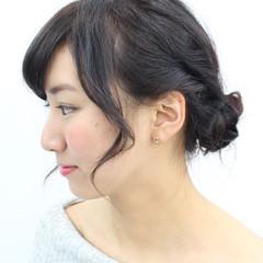 デート 簡単ヘアアレンジ 女子会 大人かわいい ヘアスタイルや髪型の写真・画像