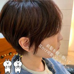ベリーショート ショートボブ ミニボブ ショートヘア ヘアスタイルや髪型の写真・画像