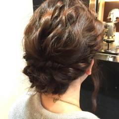 ヘアアレンジ 簡単ヘアアレンジ コンサバ 結婚式 ヘアスタイルや髪型の写真・画像