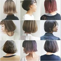 グラデーションカラー 抜け感 ストリート インナーカラー ヘアスタイルや髪型の写真・画像