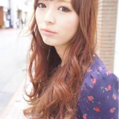 大人かわいい ロング 秋 モテ髪 ヘアスタイルや髪型の写真・画像