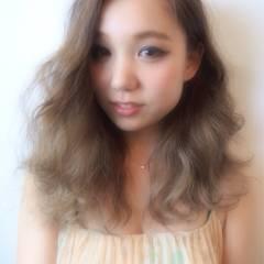 ゆるふわ 愛され 大人かわいい ガーリー ヘアスタイルや髪型の写真・画像