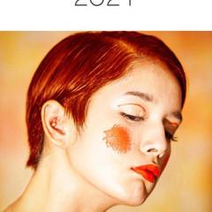インナーカラー 赤髪 モード イルミナカラー ヘアスタイルや髪型の写真・画像