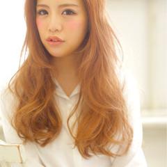 ヘアアレンジ ハイライト 渋谷系 パーマ ヘアスタイルや髪型の写真・画像