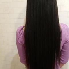 パーマ ストレート ラディアント エレガント ヘアスタイルや髪型の写真・画像
