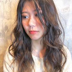 ヘアアレンジ ナチュラル ゆるふわ ウェーブ ヘアスタイルや髪型の写真・画像