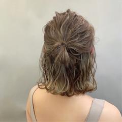 ヘアアレンジ スポーツ デート ボブ ヘアスタイルや髪型の写真・画像