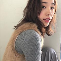 ミディアム ヘアアレンジ デート 簡単ヘアアレンジ ヘアスタイルや髪型の写真・画像
