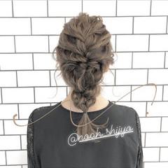 簡単ヘアアレンジ アンニュイほつれヘア 成人式 ナチュラル ヘアスタイルや髪型の写真・画像