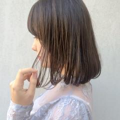 外国人風 大人かわいい ナチュラル ボブ ヘアスタイルや髪型の写真・画像
