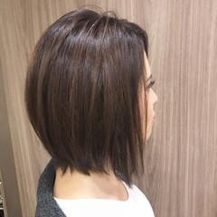 グラデーションカラー かっこいい イルミナカラー ボブ ヘアスタイルや髪型の写真・画像