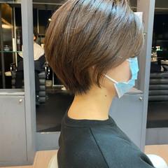 インナーカラー ショートボブ ショートヘア ショート ヘアスタイルや髪型の写真・画像