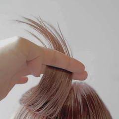 ナチュラル ミディアム 透明感カラー お洒落 ヘアスタイルや髪型の写真・画像