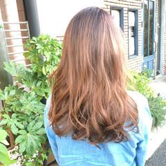 大人かわいい ストリート ロング グラデーションカラー ヘアスタイルや髪型の写真・画像