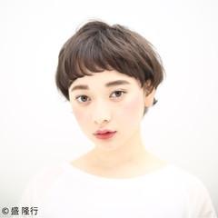 アッシュ ストリート 外国人風 暗髪 ヘアスタイルや髪型の写真・画像