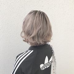 ブリーチ ハイトーン ダブルカラー モード ヘアスタイルや髪型の写真・画像
