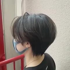 ショートボブ ショート ミニボブ ハンサムショート ヘアスタイルや髪型の写真・画像