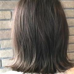 ナチュラル 透明感 ボブ オフィス ヘアスタイルや髪型の写真・画像