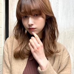 大人女子 デート 大人ミディアム セミロング ヘアスタイルや髪型の写真・画像