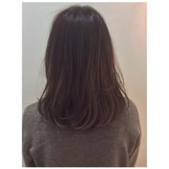 黒髪 大人かわいい グラデーションカラー フェミニン ヘアスタイルや髪型の写真・画像