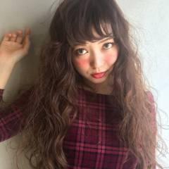ガーリー モテ髪 ストリート 春 ヘアスタイルや髪型の写真・画像