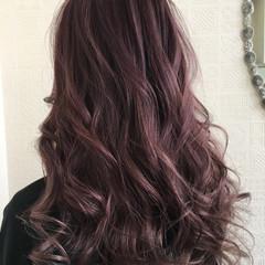 デート ロング 外国人風カラー バレイヤージュ ヘアスタイルや髪型の写真・画像
