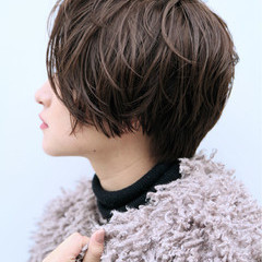 ショート こなれ感 色気 エレガント ヘアスタイルや髪型の写真・画像