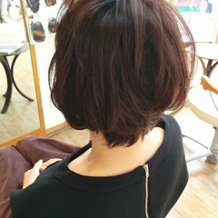 パーマ ゆるふわ 暗髪 大人かわいい ヘアスタイルや髪型の写真・画像