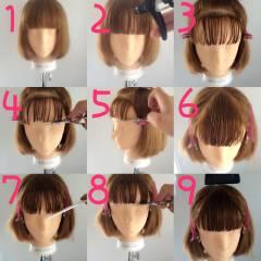 モテ髪 モード オン眉 ストリート ヘアスタイルや髪型の写真・画像