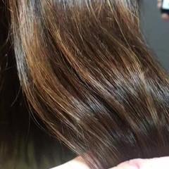ストリート ミディアム 3Dハイライト 春スタイル ヘアスタイルや髪型の写真・画像