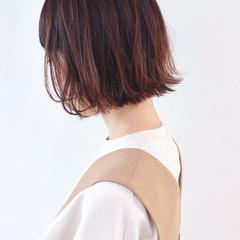 ミニボブ グラデーションカラー デート 外ハネボブ ヘアスタイルや髪型の写真・画像
