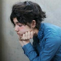 外国人風 アッシュ 暗髪 ストリート ヘアスタイルや髪型の写真・画像