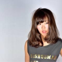 コンサバ フェミニン ゆるふわ ミディアム ヘアスタイルや髪型の写真・画像