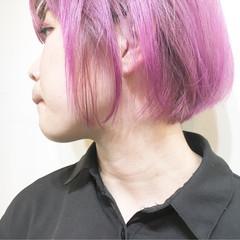 ミルクティー ウルフカット 色気 アッシュ ヘアスタイルや髪型の写真・画像