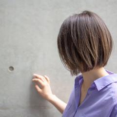 外国人風 フェミニン 女子力 ボブ ヘアスタイルや髪型の写真・画像