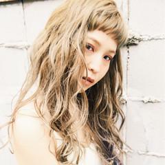 アンニュイ モード 春 ロング ヘアスタイルや髪型の写真・画像