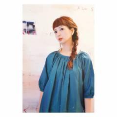 ヘアアレンジ ストリート 外国人風カラー 三つ編み ヘアスタイルや髪型の写真・画像