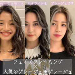 モード 韓国ヘア PEEK-A-BOO 阿藤俊也 ヘアスタイルや髪型の写真・画像