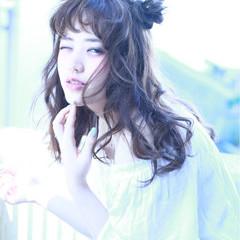 時短 ショート くせ毛風 ガーリー ヘアスタイルや髪型の写真・画像