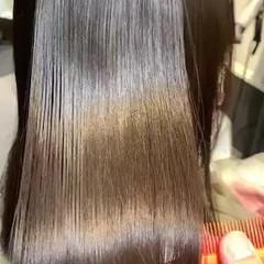 最新トリートメント サイエンスアクア 縮毛矯正 髪質改善トリートメント ヘアスタイルや髪型の写真・画像
