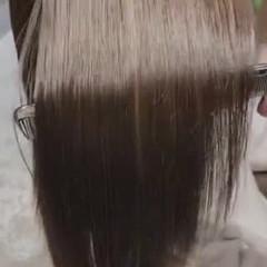 透明感カラー オリーブグレージュ 大人ハイライト ハイライト ヘアスタイルや髪型の写真・画像