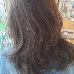 ミディアム ブラウン ストリート グラデーションカラー ヘアスタイルや髪型の写真・画像